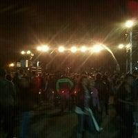Photo taken at Praça de Eventos - São Sebastião SP by Juarijuariribeiro R. on 9/16/2012