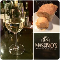 Photo taken at Massimo's Eclectic Fine Dining by Marlon A. on 11/2/2014