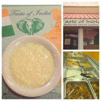 Photo taken at Taste Of India by Marlon A. on 3/31/2013