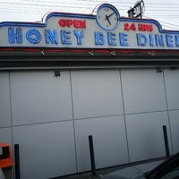 Photo taken at Honey Bee Diner by Monita B. on 10/28/2012