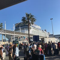Photo taken at Terminal B del Port de Barcelona by Jaime Z. on 5/7/2017