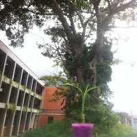 Photo taken at Ciudad de la Investigación by Andrey M. on 9/24/2012