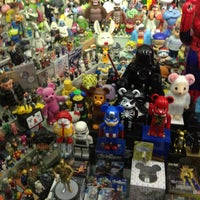 Photo taken at Superman Toys by Ming-Samurai L. on 5/18/2013