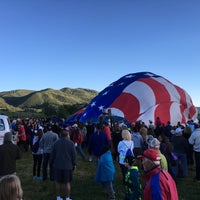 Photo taken at Steamboat Springs Hot Air Balloon Rodeo by Aaron W. on 7/9/2016