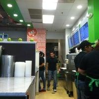 Photo taken at Freshii by Tim P. on 10/23/2012