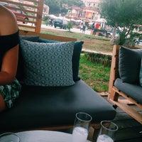 Photo taken at Avli Bar Sivota by Dem.p on 8/13/2015