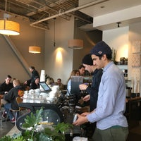Photo taken at Verve Coffee Roasters by Ellie l. on 1/2/2016