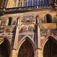 Photo taken at Prague Castle by Alexander C. on 6/8/2013