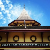 Photo taken at Chatham Railroad Museum by Kristin on 8/8/2013