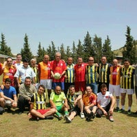 Photo taken at Sabahat Akşıray Özel Eğitim İş Uygulama Merkezi Futbol Sahası by TC. AYHAN😎 A. on 11/12/2015
