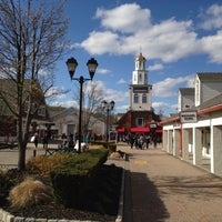Photo taken at Woodbury Common Premium Outlets by Zhou D. on 4/21/2013