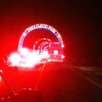 Photo taken at Tanglewood Festival of Lights by george h. on 12/11/2012