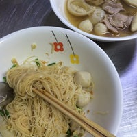 Photo taken at Nai Hung Fishball Noodle by Chava C. on 10/10/2016
