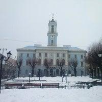 Снимок сделан в Центральная площадь пользователем Ievgen B. 2/23/2013