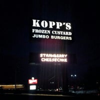 Photo taken at Kopp's Frozen Custard by Lori A. on 2/24/2013