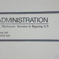Photo taken at J.A. Mortensen Inventar & Bygning by Brian J. on 7/18/2013