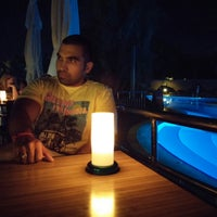 Photo taken at Limak Limra Pool Bar by Cahit Can E. on 9/5/2014