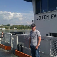Photo taken at Golden Eagle Ferry by Annie B. on 10/10/2013