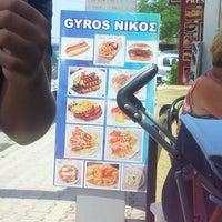 Photo taken at Nikos Gyros by Dzej P. on 6/24/2013