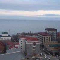 Photo taken at Makhachkala by Serguei S. on 1/29/2015
