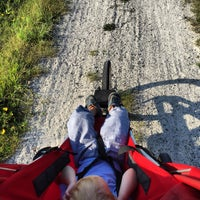 Photo taken at City of Franklin Bike and Hiking Trail by Tim C. on 7/22/2015