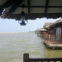 Photo taken at Poovar Island Resort by Sarath P. on 4/12/2014
