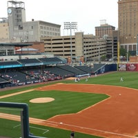 Photo taken at Fifth Third Field by Susie on 5/14/2013