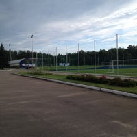 Photo taken at Стадион ЦСКА в Ватутинках by Алексей П. on 7/29/2015