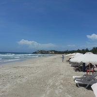 Photo taken at Playa Parguito by Freddy A. on 5/25/2013