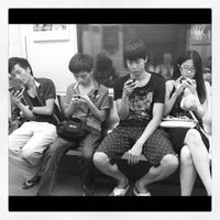 Photo taken at Baiyun Culture Square Metro Station by Yura S. on 9/22/2012