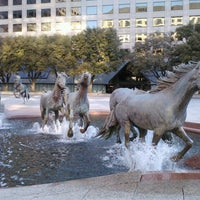 Photo taken at The Mustangs of Las Colinas by Supote M. on 3/3/2013