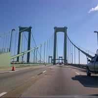 Photo taken at Delaware Memorial Bridge by Matt S. on 10/21/2012