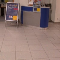 Photo taken at Deutsche Post by Patricia P. on 1/9/2013