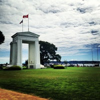 Photo taken at Canada Border Services Agency (Peace Arch) by Jennifer L. on 6/21/2013