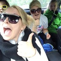 Photo taken at Kunstenniemi by Jasmin A. on 8/30/2014