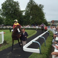 Photo taken at Lingfield Park Racecourse by Nick G. on 7/18/2015