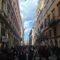 Photo taken at Via del Corso by Александр Н. on 3/9/2013