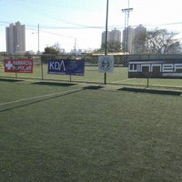 Photo taken at Julimar Green Football by Rhafael A. on 9/1/2013