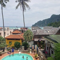 Photo taken at Phi Phi Hotel by Katrina E. on 5/11/2013
