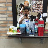 Photo taken at Tony Hair Station by St A. on 10/5/2015