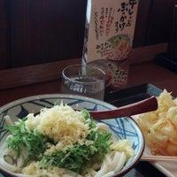 Photo taken at Marugame Seimen by Eichi T. on 6/23/2013