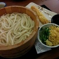 Photo taken at Marugame Seimen by Eichi T. on 3/1/2016