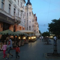 Снимок сделан в Улица Ольги Кобылянской пользователем Лариса Н. 5/10/2013