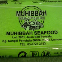 Photo taken at Restoran Muhibbah Seafood by Leka L. on 10/31/2012