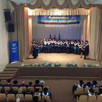 Foto tomada en Международный университет «МИТСО» por Orlanika el 2/22/2013