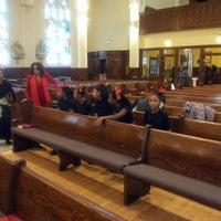 Photo taken at St. Columbanus Parish by Catrina T. on 12/15/2013