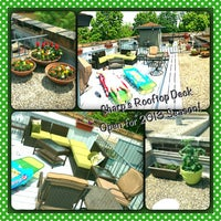 Photo taken at Rooftop Oasis At Sharp's Lovenest by Kelly S. on 8/3/2013