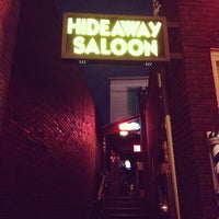 Photo taken at Hideaway Saloon by Roster M. on 10/17/2013