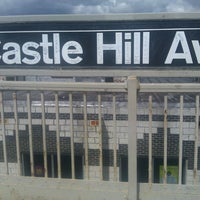Photo taken at MTA Subway - Castle Hill Ave (6) by Crystal S. on 3/26/2013