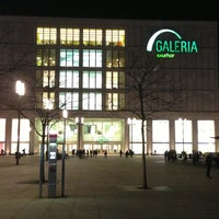 Photo taken at Galeria Kaufhof by Andreas H. on 3/5/2013